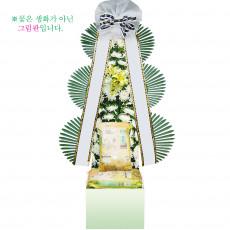 [근조]쌀화환20kg-2호